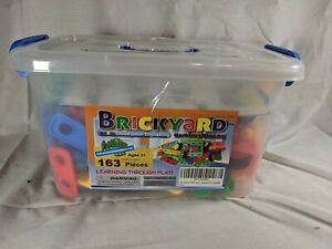 EUC Brickyard Construction Engineering Toy STEM Kit 163 Piece Educational