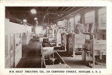 B-M Heat Treating Company, 220 Clifford Street, Newark NJ