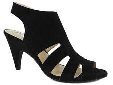 INC International Concepts Women's Giannah Sandals Black Suede Size 7.5 M