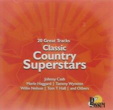 CLASSIC COUNTRY SUPERSTARS: VARIOUS ARTISTS (CD)
