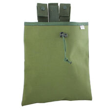 Bulldog Military Army Belt Mounted Rolling M4 SA80 223 Dump Pouch OD Green NEW