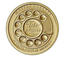 🇺🇸 US Dollar coin USA $1, American Innovation - Telephone, Massachusetts, 2020