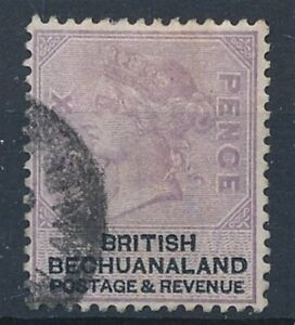 [52094] Bechuanaland 1887 good Used Very Fine stamp $35