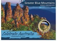 Australien 1 Dollar 2010 Celebrate Australia Greater Blue Mountains