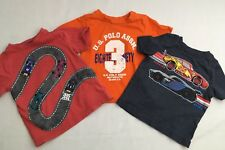 Gymboree Old Navy U.S. Polo Assn. Infant Boys Lot Of 3 Shirts 12-24 Months *