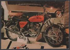 cartolina MOTO NORTON 750CC COMMANDO 4 MARCE