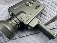 Minolta XL401 Super 8 Film Movie Camera Rokkor 8.5-34 1.2 Macro Zoom Lens Tested