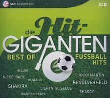 Die Hit Giganten-Best Of Fußball-Hits von Various Artists - 3 CD-BOX mit 65 Hits