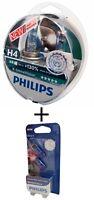 H4 Philips X-treme Vision +130% P43t Halogen 2er 12342XV+ W5W White Vision