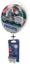 H4 Philips X-Treme Vision +130% p43t halógenas 2er 12342xv+ w5w White Vision