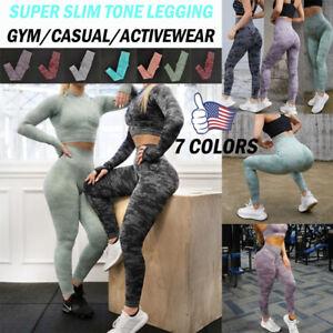 Women Push Up Leggings Yoga Pants Anti Cellulite Gym Butt Lift Fitness Shaper