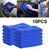 10 Ultra Soft Cleaning Micro-Fibre Plush Detailing Car Clothes Microfibre Towel