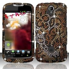 T-Mobile Huawei myTouch Q U8730 Crystal Diamond BLING Case Phone Cover Cheetah