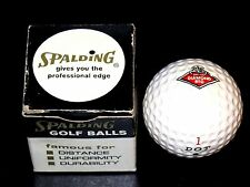 VINTAGE Mint in Box DIAMOND REO TRUCK advetising SPALDING-90 Dot Golf Ball RARE