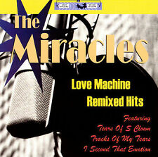THE MIRACLES Love Machine Remixed Hits CD Tears of a Clown Second That Emotion