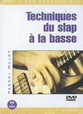 MULOT Pascal tecniche du schiaffo a la bassa per CHITARRA BASSO MUSICA ■ DVD francese