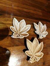 More details for 3 x wade ceramic palm shaped ash trays / trinket dishes