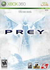 XBOX 360 Prey Video Game Fun Multiplayer Online Deep Space Alien Fight DISC ONLY
