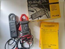 Fluke 90i 610s Acdc Current Probe 600v Cat Ii And Fluke 30 Clamp Meter