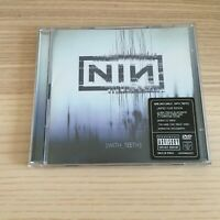 Nine Inch Nails _ With Teeth _ CD + DVD Limited Tour Edition _ 2005 Nothing RARO