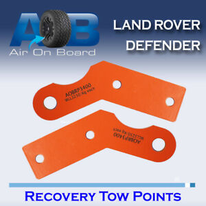 Tow Recovery Point Kit for Land Rover Defender H/D PAIR 3250kg WLL