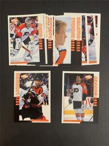 1997/98 Score Philadelphia Flyers Team Set 13 Cards