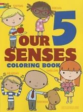 NEW Our 5 Senses Coloring Book (Dover Coloring Books for Children)
