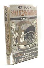 Fix Your Volkswagen Larry Johnson Vintage VW Auto Car Repair Mechanic Manual !!!