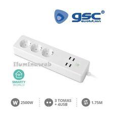 Base multiple enchufe USB inteligente Wifi programador temporizador interruptor
