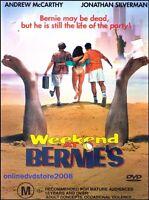 WEEKEND AT BERNIE'S (Andrew McCARTHY Jonathan SILVERMAN) DVD NEW Reg 4 Bernies