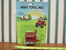 Brown Plastic Auger Cart By Mini Toys 1/64th Scale