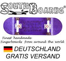 Komplett Holz Fingerskateboard LI/WS/SWZ  SOUTHBOARDS® Handmade Wood Fingerboard