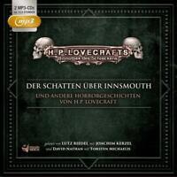 BIBLIOTHEK DES SCHRECKENS-DER SCHATTEN ÜBER INNSMOUTH U.A.-BOX 2  2 MP3 CD NEU