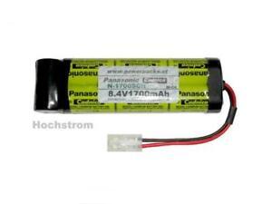 Hochstrom Akkupack Panasonic N-1700SCR, inline 8.4V1700 mAh