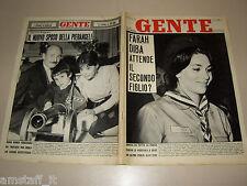 GENTE 1962/3=FARAH DIBA=ANNA MARIA PIERANGELI=ARTURO DAZZI=FIORENZA CASSOTTO=