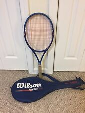 Wilson Pro Staff 5.5 SI Stiff Index 95 Sq In Racket Grip 4 3/8 Comes with Case