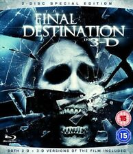 The Final Destination in 3-d 4 Th Installment Blu-ray DVD Region 2