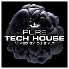 DJ SKT - Pure Tech House   Mixed by DJ SKT [CD]
