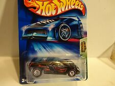 2004 Hot Wheels Treasure Hunt #103 Black Cadillac Cien w/Redline Real Riders