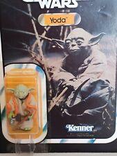 Retro Star Wars Yoda con ESB Tarjeta Con Burbuja adjunto casi nuevo y sin usar sin abrir.