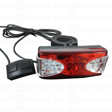 Sunlite Bicycle LED Rear Turn Signal & Tail Light w/ Wired Handlebar Controller
