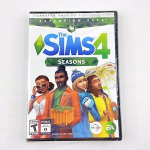 The Sims 4: Seasons Expansion Pack PC/MAC Download No Disc Version New Sealed A1