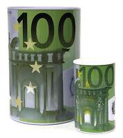 XXL SPARDOSE 100 EURO BANKNOTE GELD SPAREN SPARBÜCHSE SPARSCHWEIN DOSE GROß