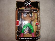 WWE Classic Superstars Deluxe Tito Santana MOC Figure, Mattel Elite, WCW, WWF