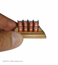 "new Micro Evangelios set with stand 0.55"" high in spanish miniature books collec"