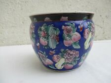 Cache pot  ancien en porcelaine de Chine