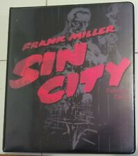Frank Miller Sin City Collector Cards Factory Binder With 6 Card Uncut Sheet