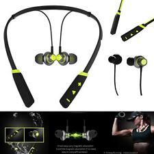 New Green Bluetooth Wireless Headphones Sport Mic For Vodafone Phone Cases