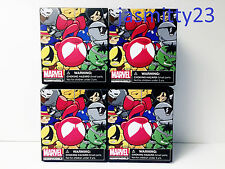 Lot of (4) Kidrobot Marvel Munny Micros Series 2 Blind Box New/Sealed