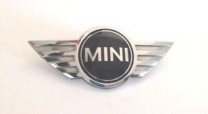 MINI BMW R53 R52(S) Cooper S Bonnet Small FRONT Badge Emblem Logo 5114 0660106